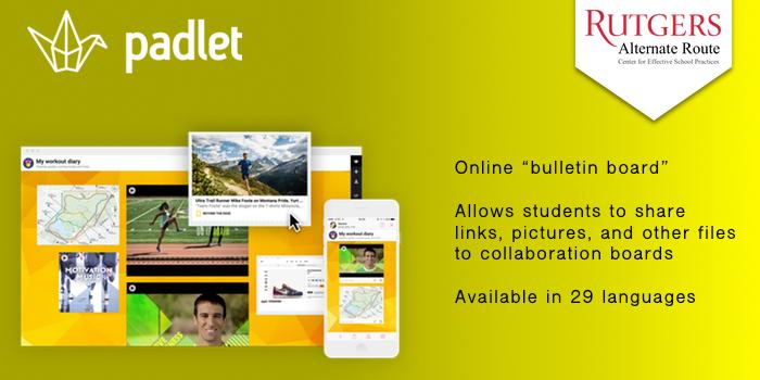 Padlet - Online