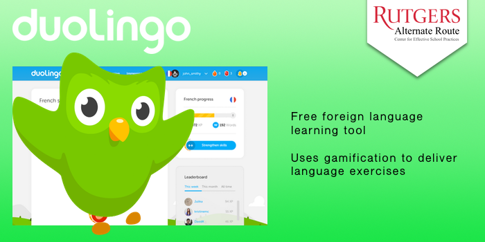 Dulinguo - Free foreign language learning tool. Uses gamification to deliver language exercises.