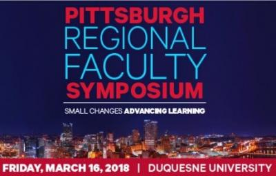 Dr. Cindy Blitz Presenting at the 2018 Pittsburgh Regional Faculty Symposium