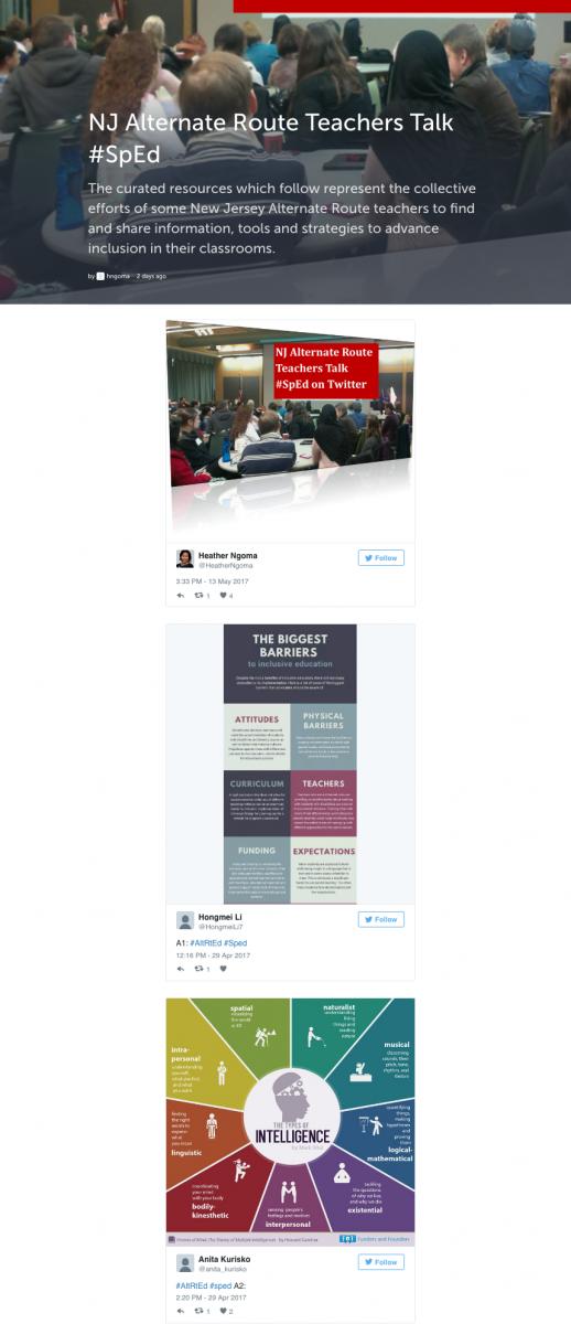 Nj Alternate Route Teachers Talk Special Education On Twitter